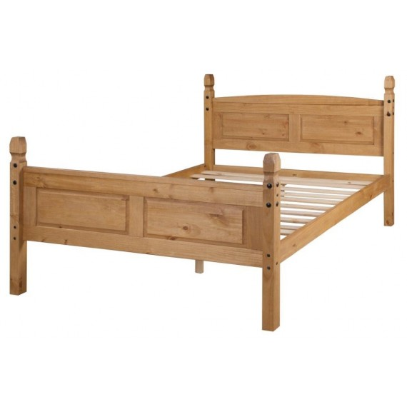"""Corona 4'6"""" High Foot End Bed Frame"""