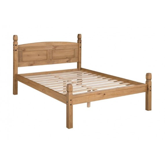 "Corona 4'6"" Low Foot End Bed Frame"
