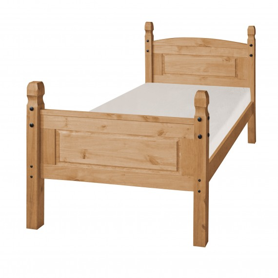 """Corona 3'0"""" High Foot End Bed Frame"""