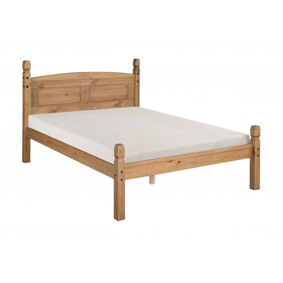 """Corona 4'6"""" Low Foot End Bed Frame"""