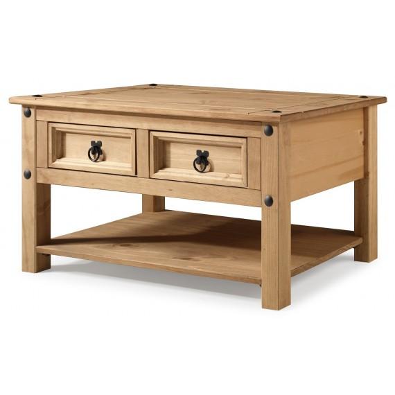 Corona 2 Drawer Coffee Table