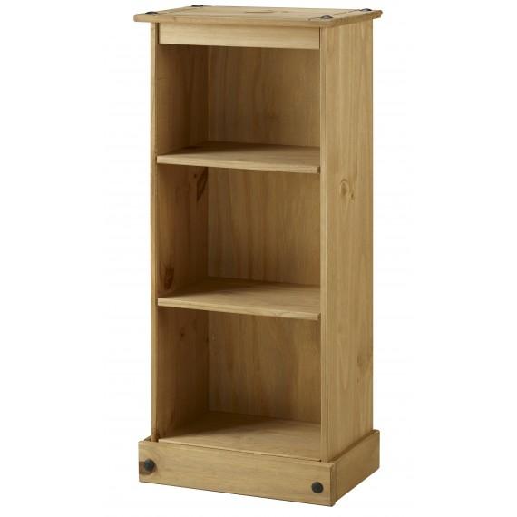 Corona Low Narrow Bookcase