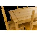 Corona Budget Dining Table & 4 Chairs