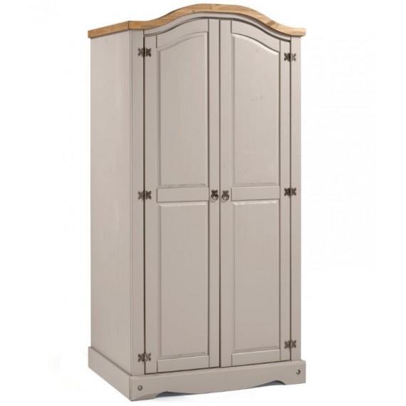 Corona Grey Wax 2 Door Arch Top Robe