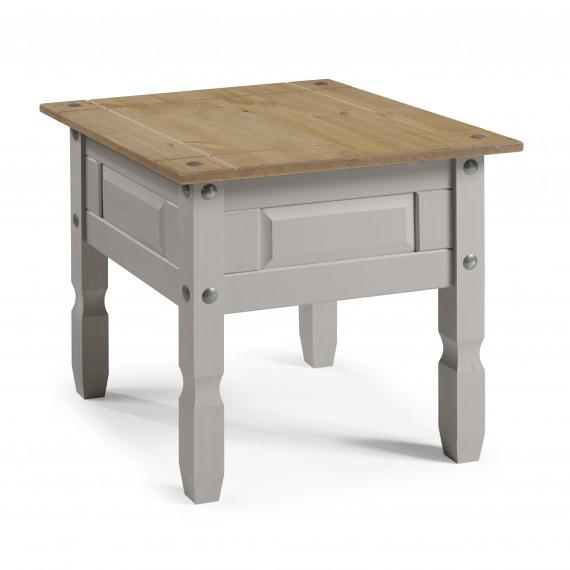 Corona Grey Wax Lamp Table