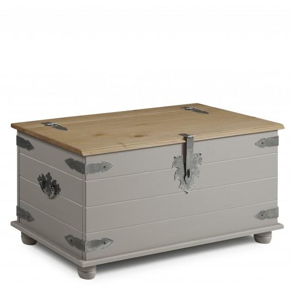 Corona Grey Wax Blanket Box