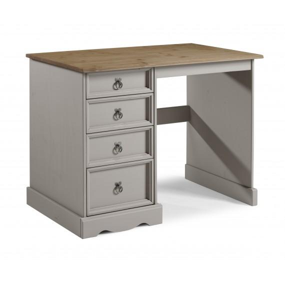 Corona Grey Wax Dressing Table