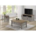 Corona Grey Wax Flat Screen TV Unit