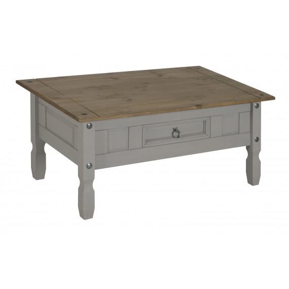Corona Grey Wax Coffee Table