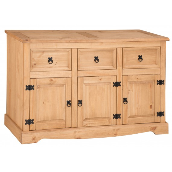 Mercers Furniture Corona 3 Door 3 Drawer Large Sideboard