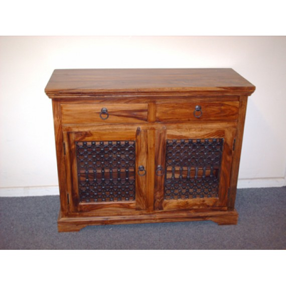 Indian Jali Small Sideboard